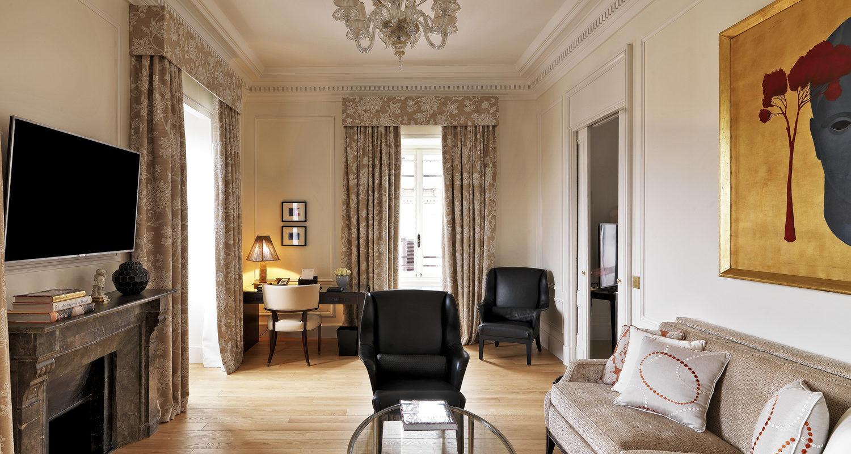 Astor Suite at The St. Regis Rome