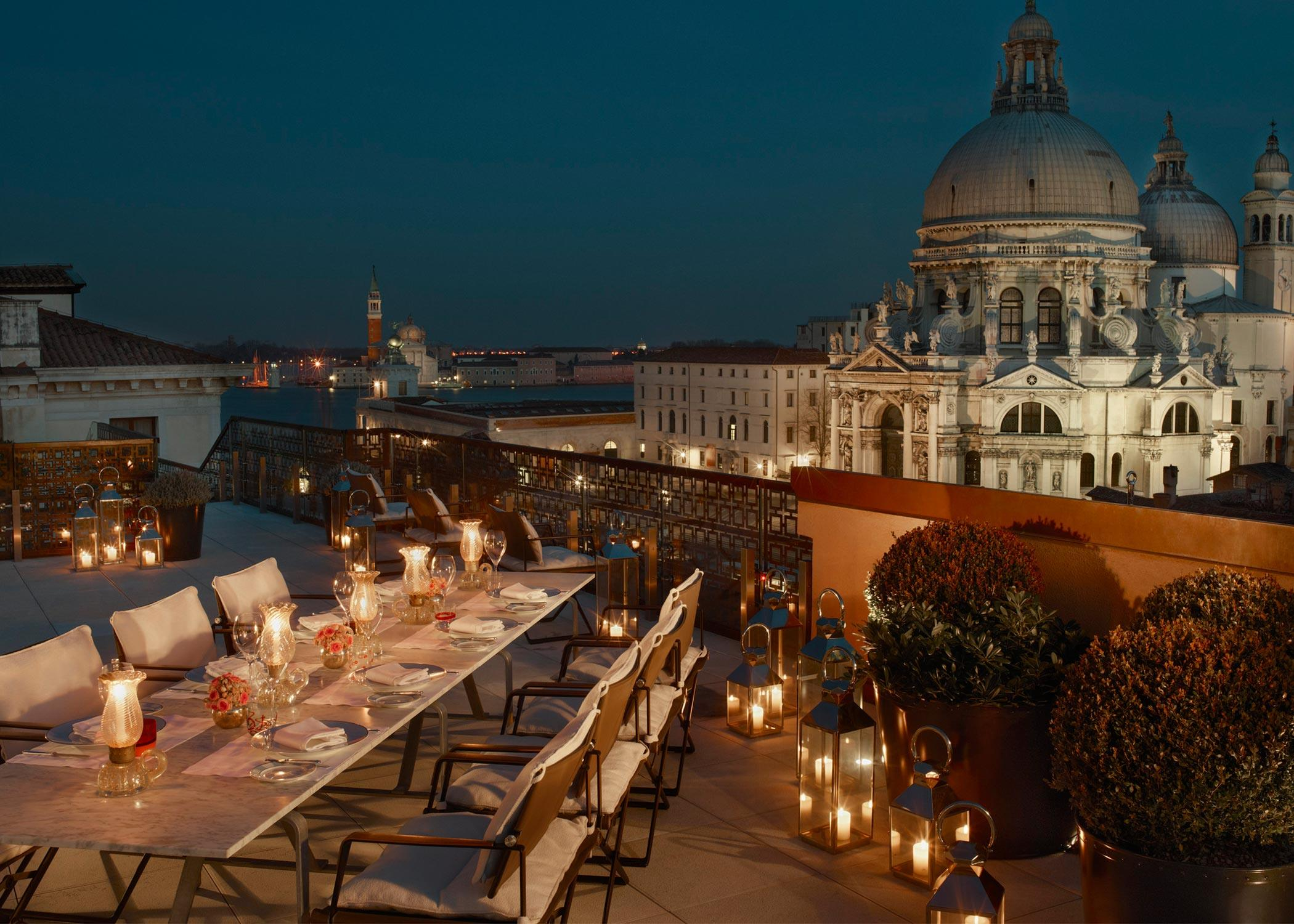 Explore-Italy-Hotel-The-Gritti-Palace-Luxury-Collection-Hotel-Venice-Night-Terrace-View
