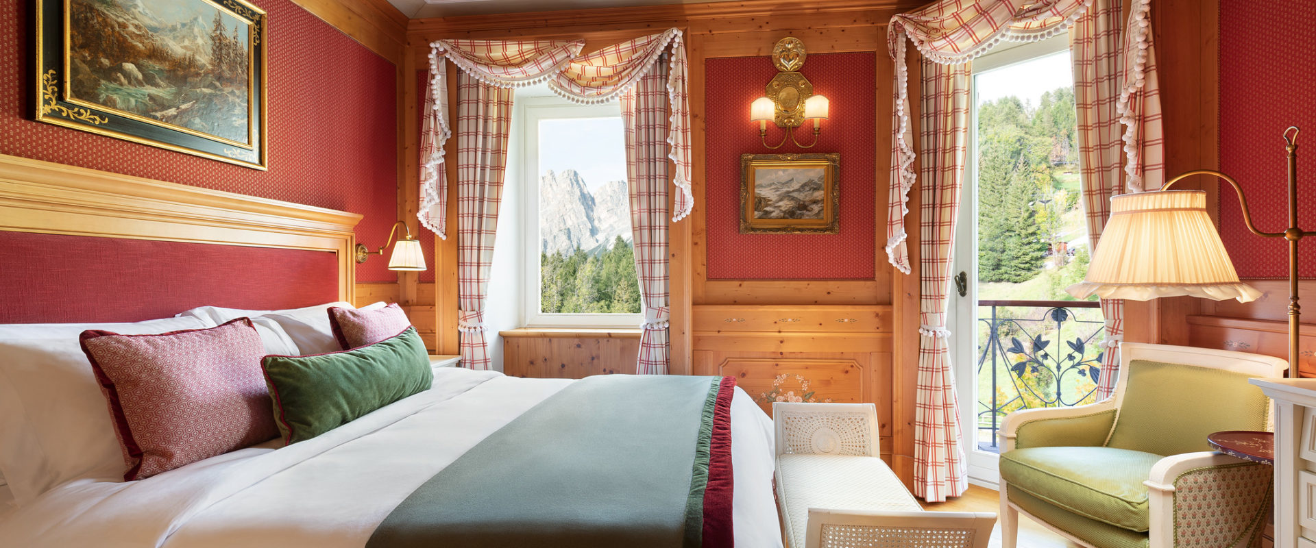 King Suite at Cristallo, a Luxury Collection Resort & Spa, Cortina d'Ampezzo