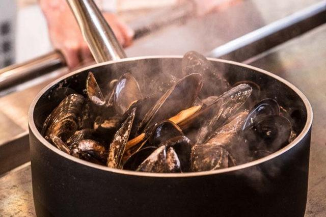 boiled muscles