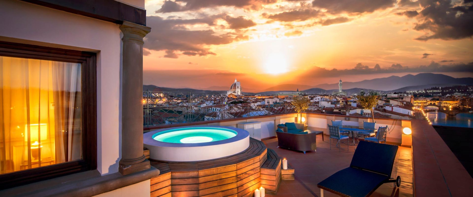 The-Westin-Excelsior-Florence-Belvedere-Suite-Terrace-Sunset