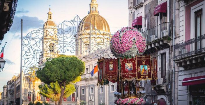 Festival of Saint Agata in Catania