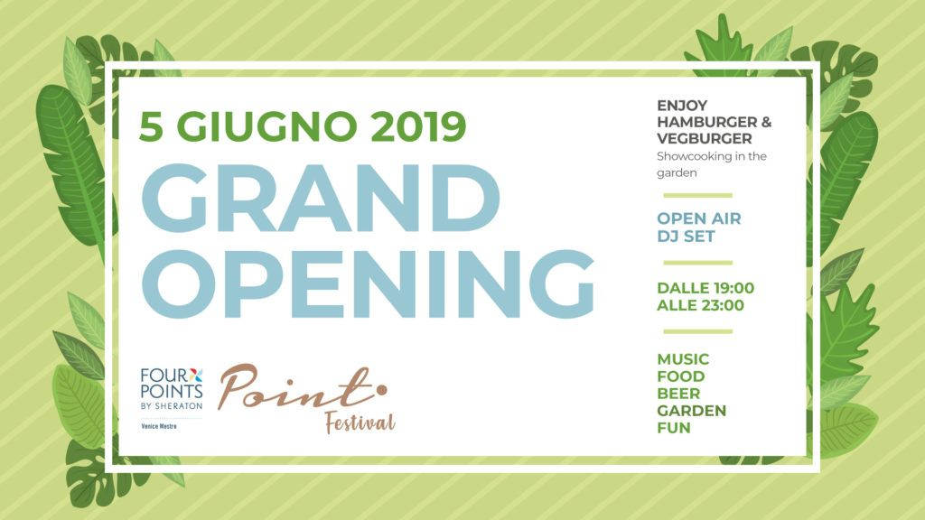 Grand Opening at Point Festival 2019