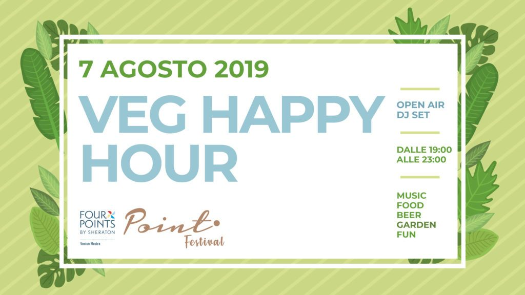 Veg Happy Hour at Point Festival 2019