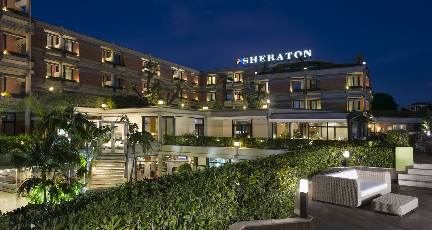 Exterior photo of Four Points by Sheraton Catania Hotel & Conference Center