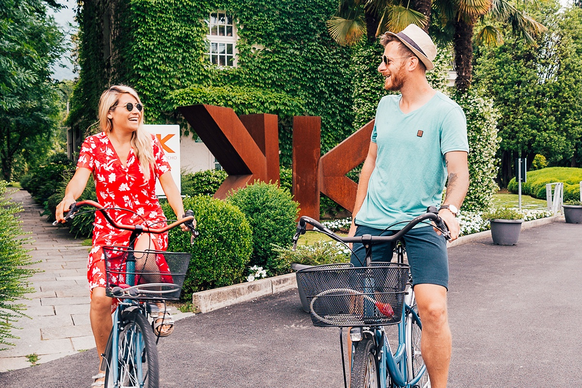 Couple biking at Sheraton Lake Como.jpg