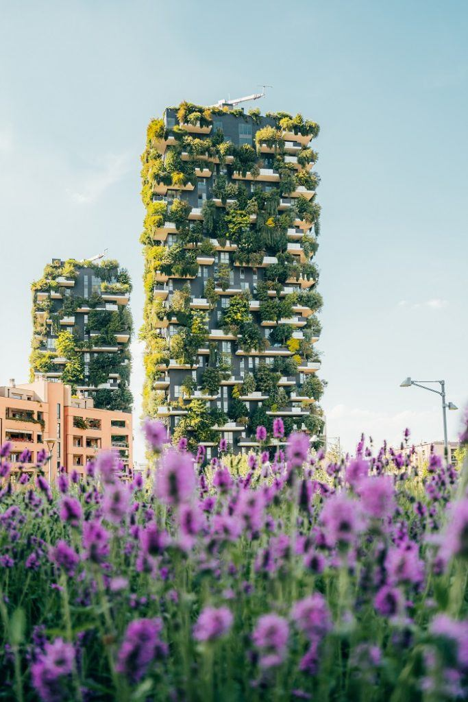 Bosco Verticale Skyscrapers Milan