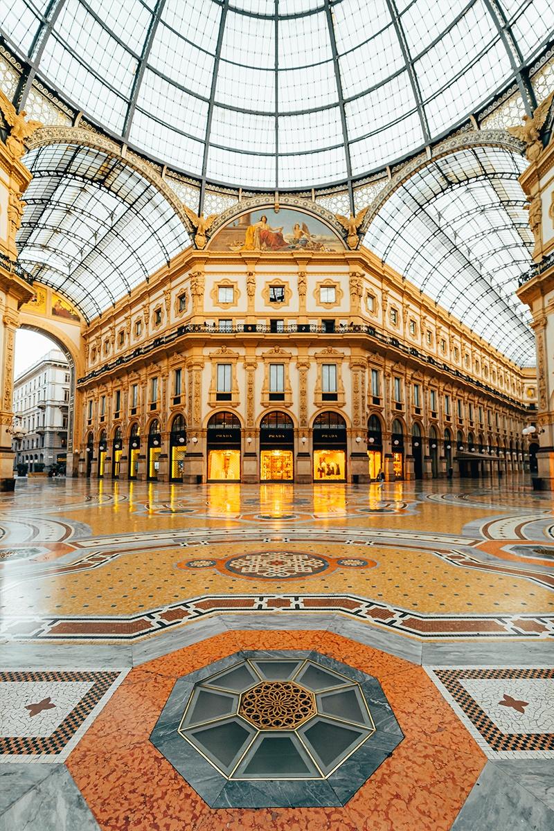 Gallery Vittorio Emanuele II Milan