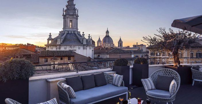 Divinity Terrace at Pantheon Icon Hotel